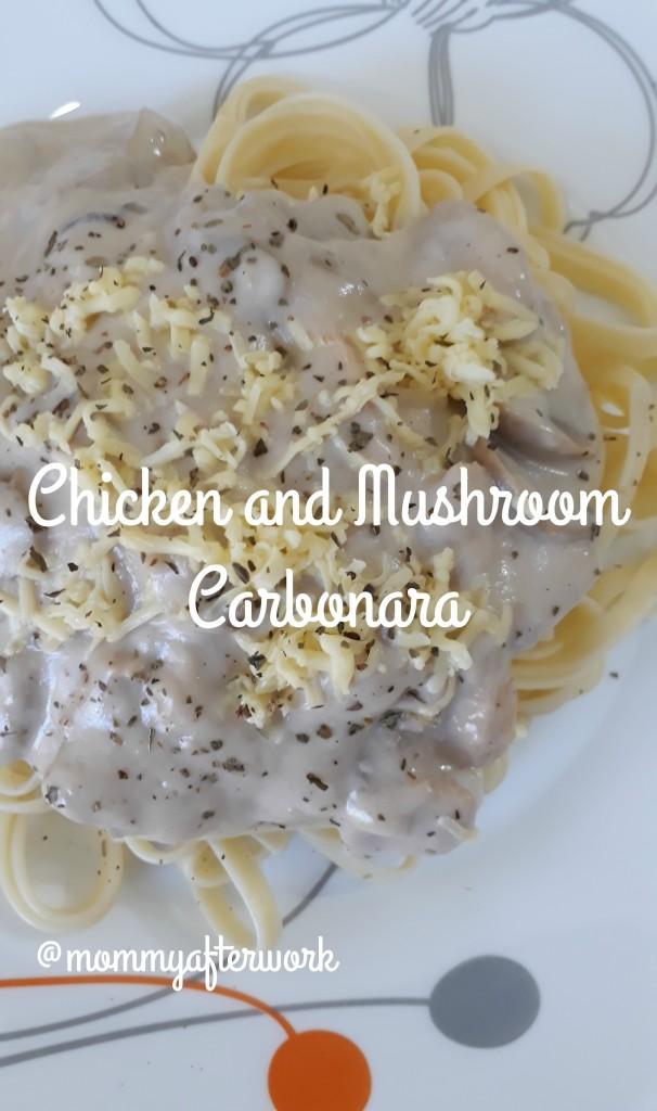 ChickenAndMushroomCarbonara