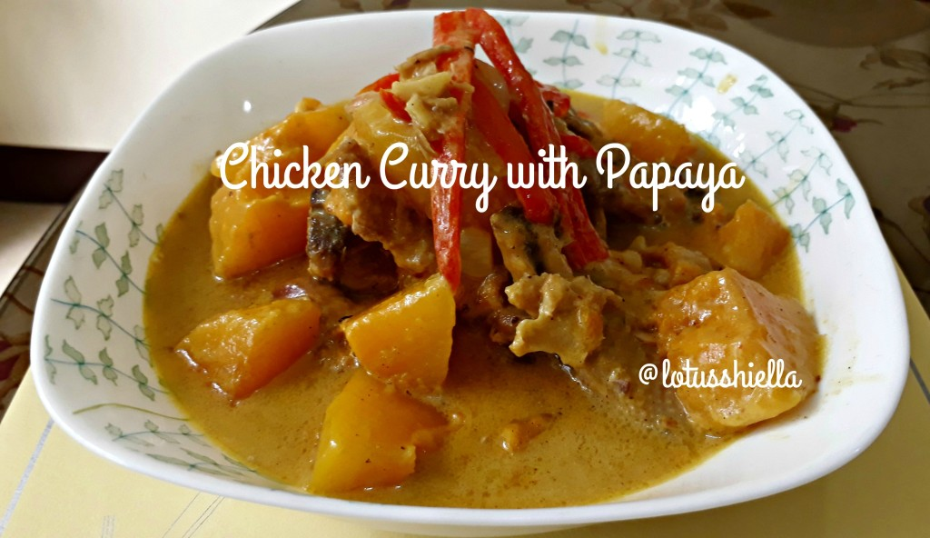 ChickenCurryWithPapaya