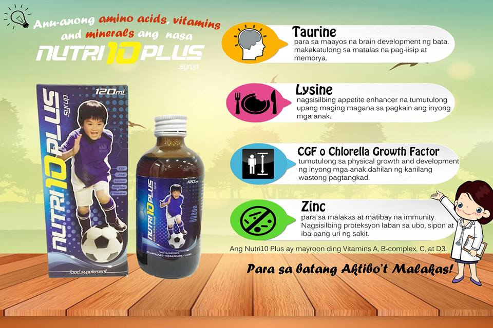 Nutri10 Plus Nutrients