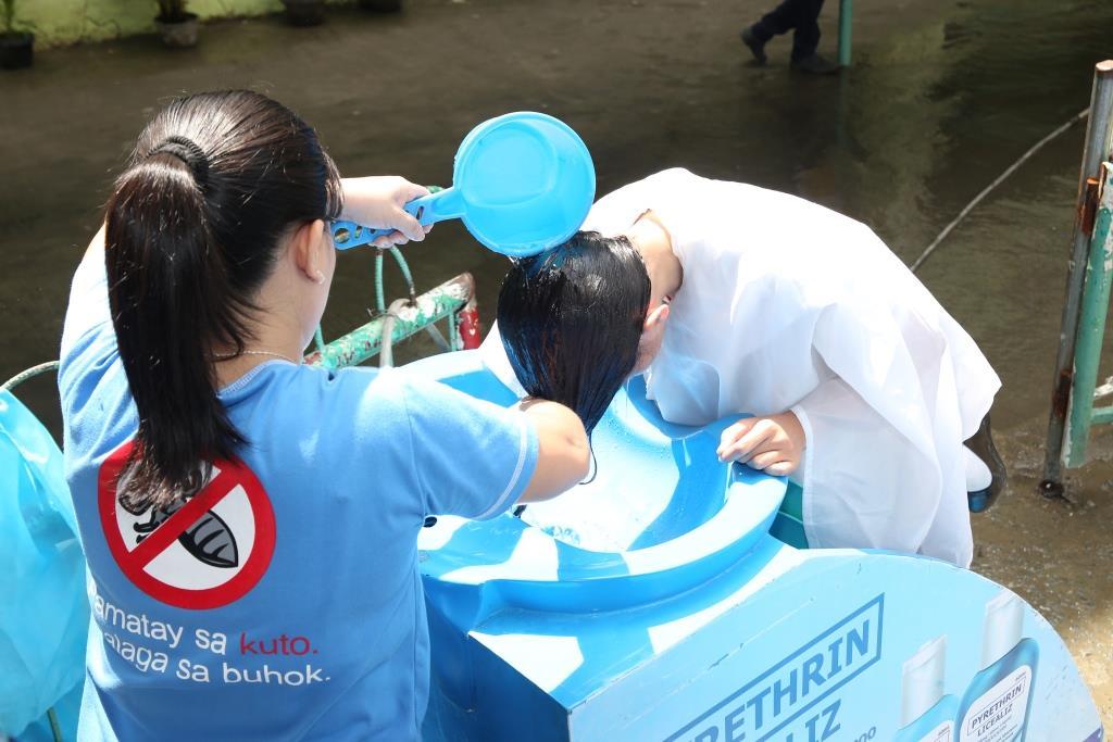 Licealiz Campaign Kilusang Kontra Kuto Shampoo