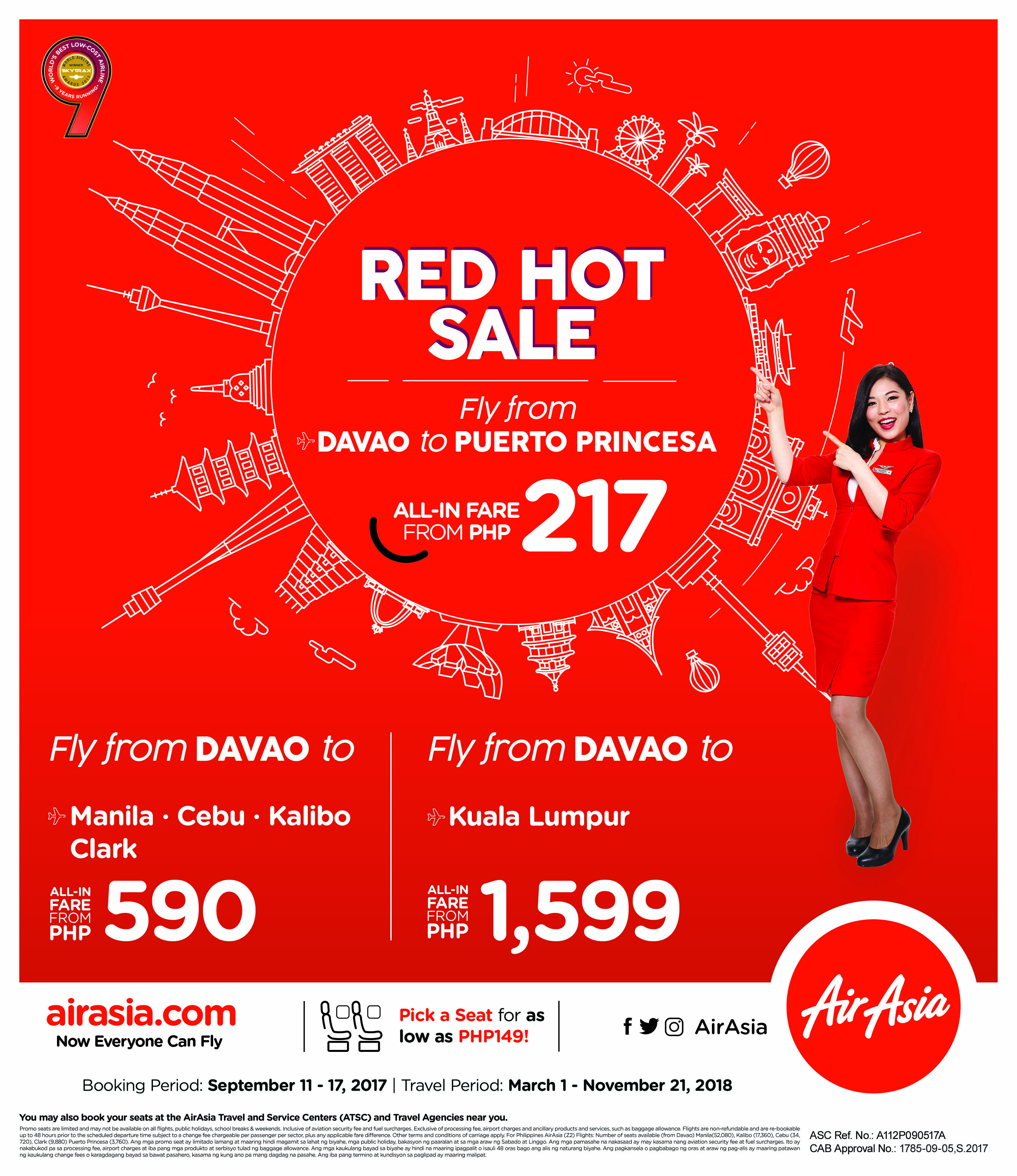 Red Hot Sale - Davao