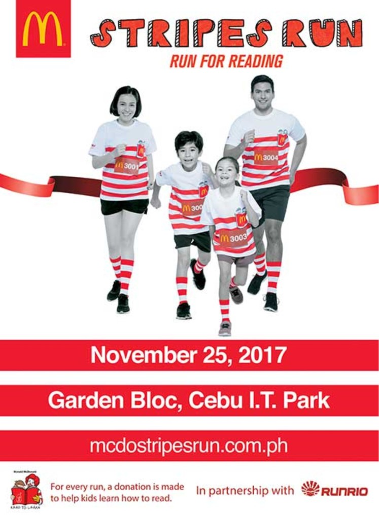 McDo Stripes Run 2017 Cebu