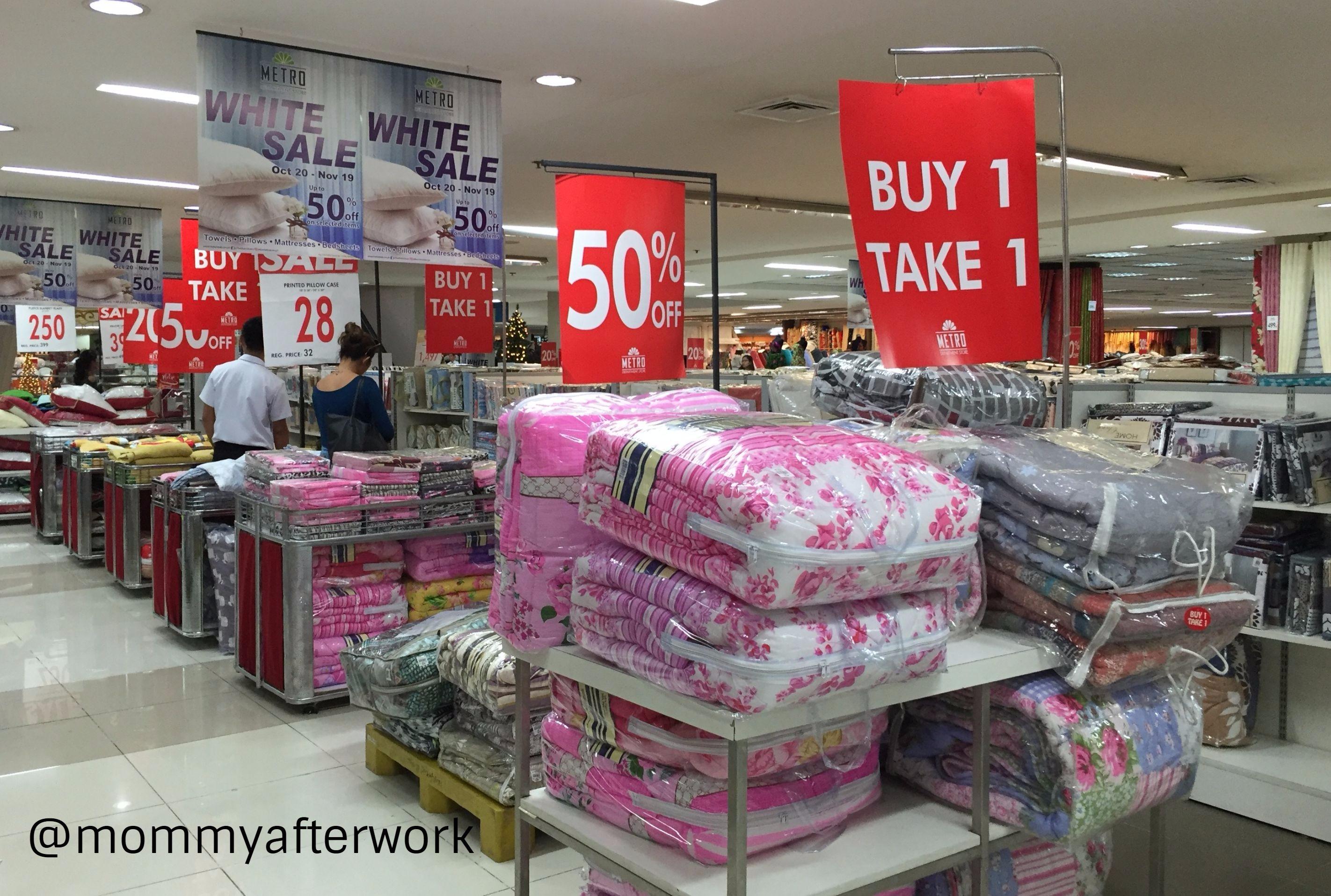 Metro White Sale Comforters