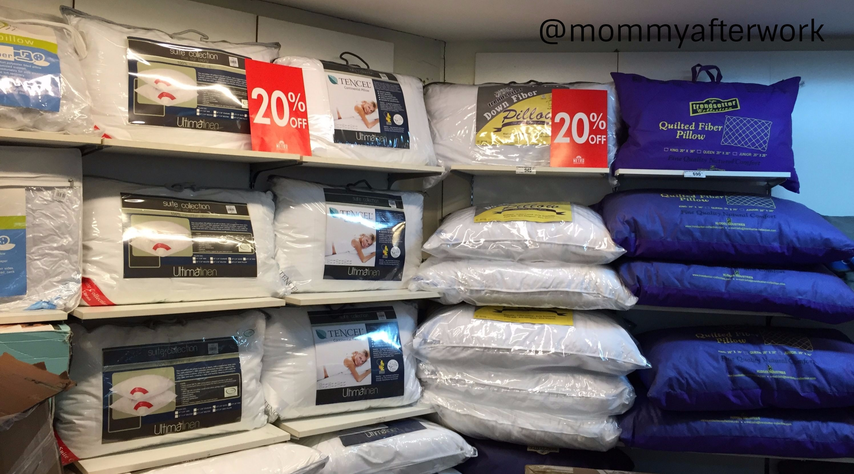 Metro White Sale Pillows