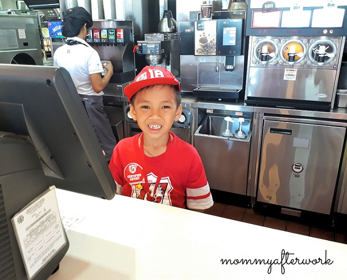 McDo Kiddie Crew 2018 - Customer Service