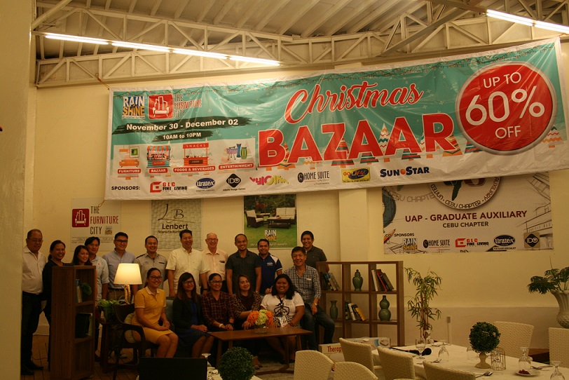Furniture City officials with representatives from Furniture Bazaar exhibitors Uratex Foam, GLC Fine Living, Home Suite and Infinite Design Option.