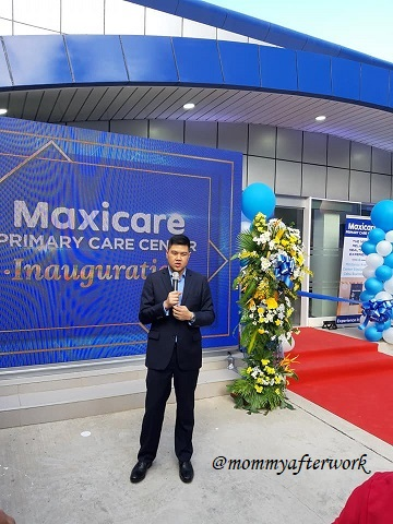Maxicare PCC Cebu - President and CEO Christian Argos