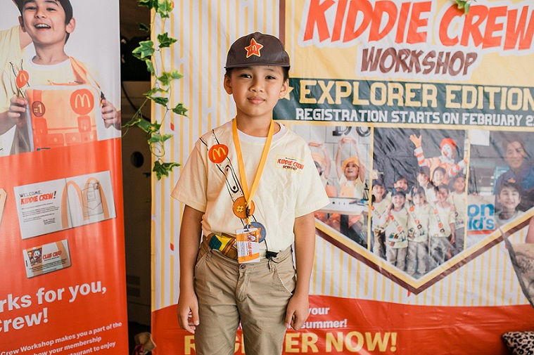 McDonalds Kiddie Crew Explorer Edition 2019
