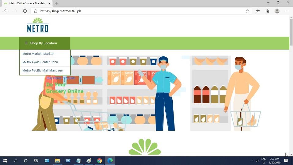 MetroStore Online Shopping Site