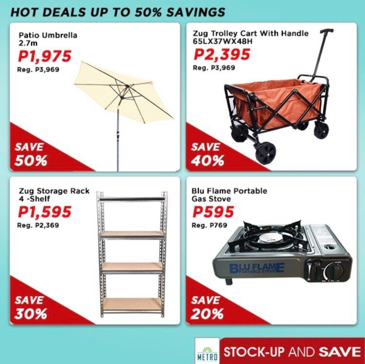 The Metro Store Stockup and Save_HomeEssentials