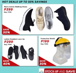 The Metro Store Stockup and Save_Shoes