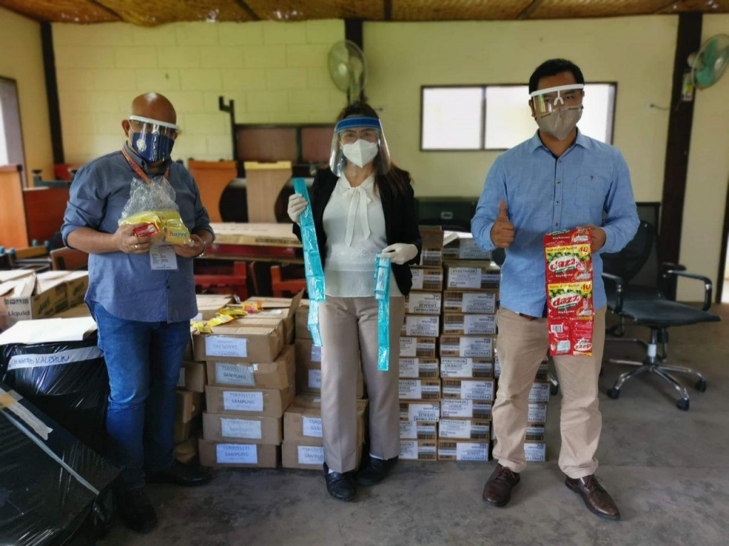 DepEd Region X Northern Mindanao receives hygiene products from Lamoiyan Corporation