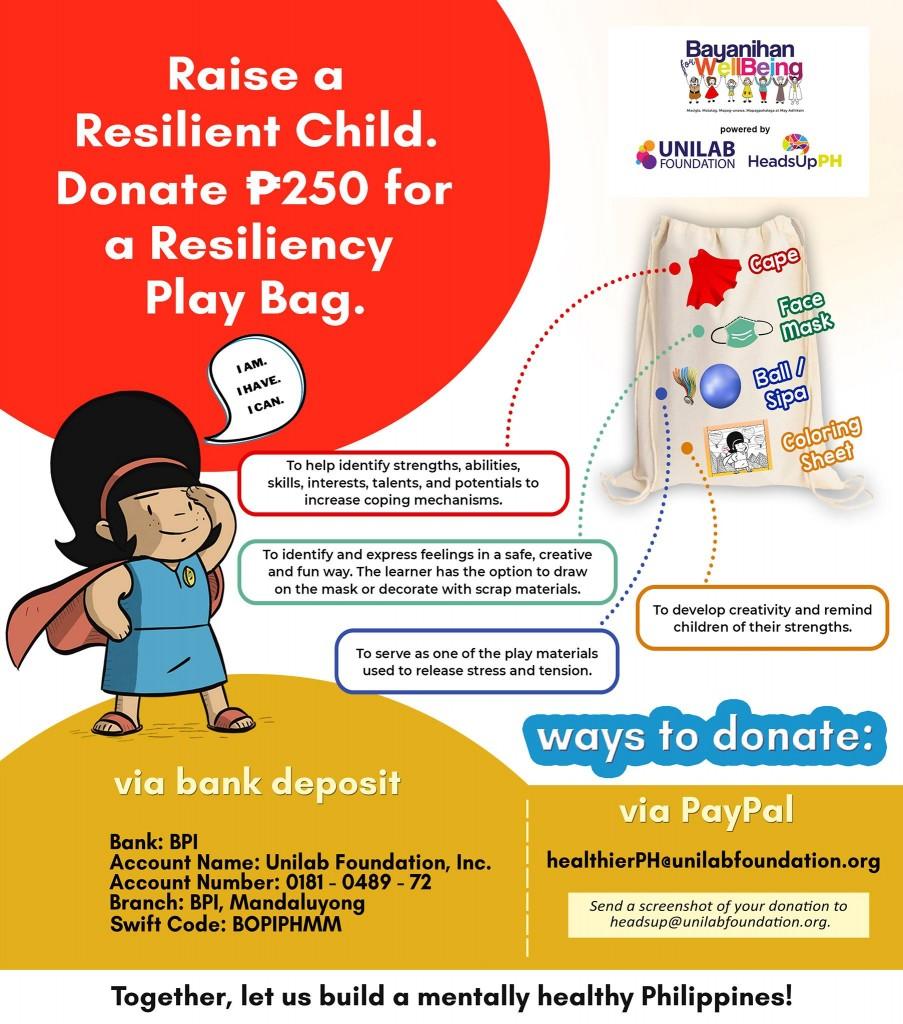 Resiliency Play Bag