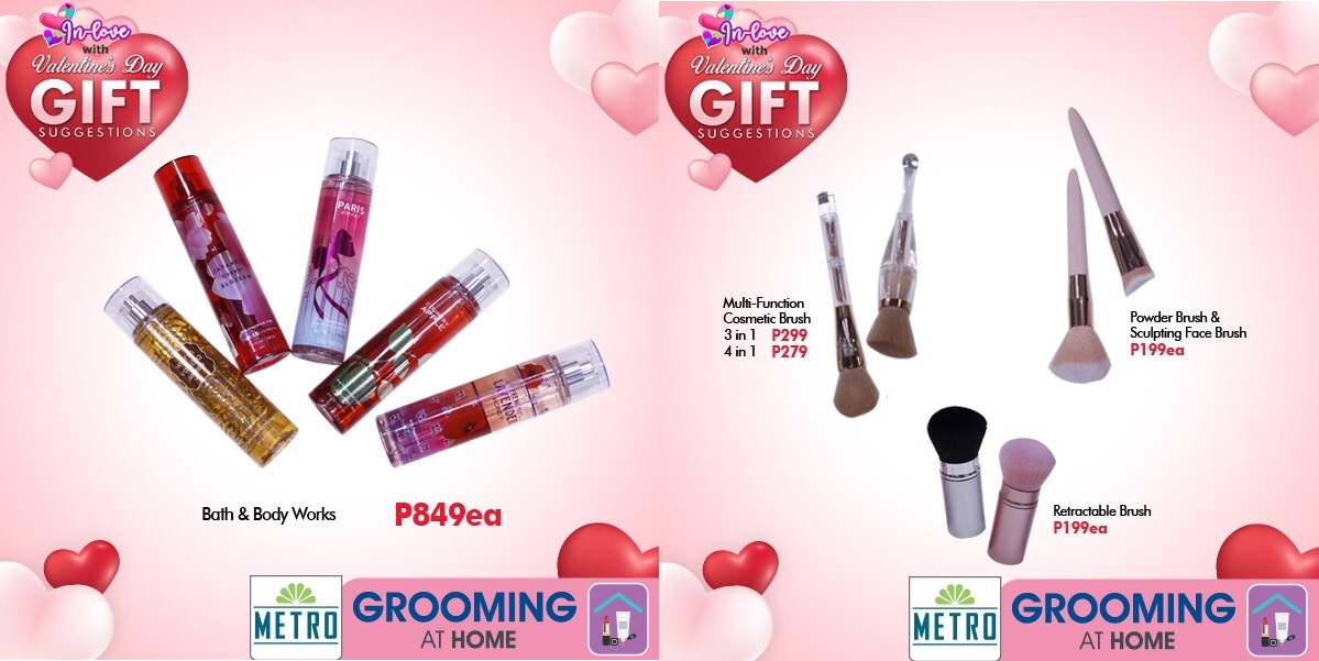 The Metro Stores Valentines 2021 Colognes Kikay Sets