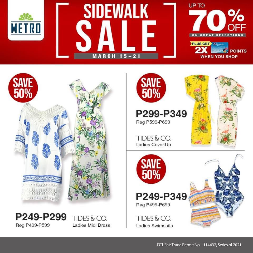 The Metro Store Sidewalk Sale - Dress