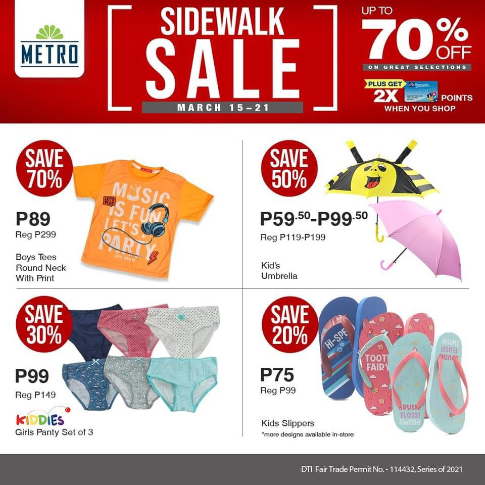 The Metro Store Sidewalk Sale - Kids Apparel
