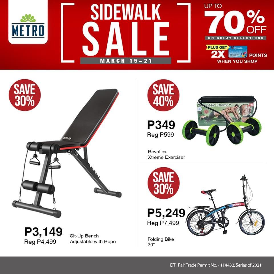 The Metro Store Sidewalk Sale - Sports