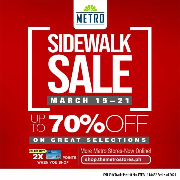 The Metro Store Sidewalk Sale