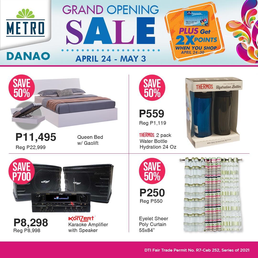Metro Danao Opening Sale - Home