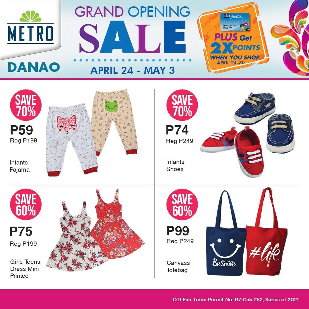 Metro Danao Opening Sale - Kids Clothes