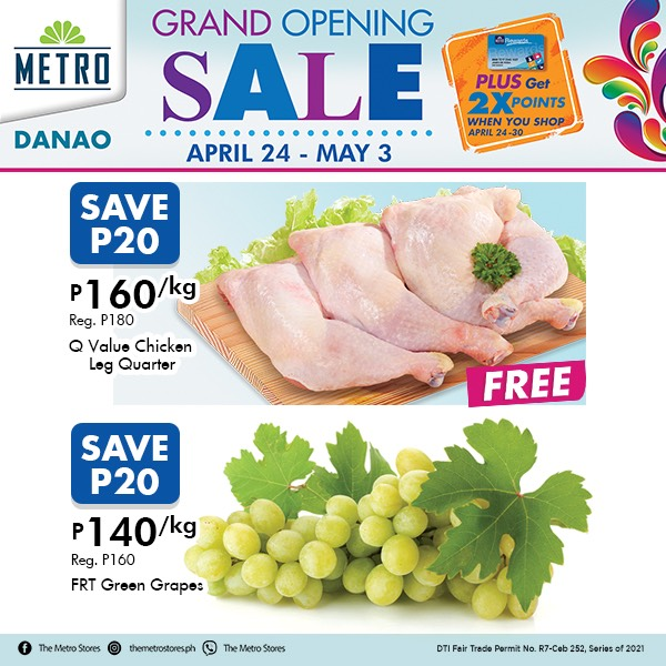 Metro Danao Opening Sale - Supermarket
